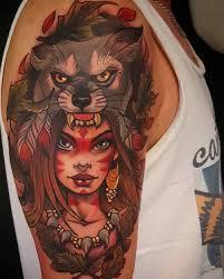 shoulder tattoos for