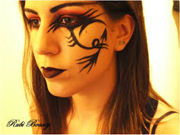 look fantasia demon vamp goth halloween makeup youtube