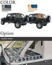jeep wrangler military bigrow rakuten global market suntop cargo top jeep wrangler