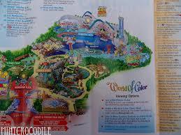map of california adventure magic eye disneyland resort pictorial a gloomy busy summer day