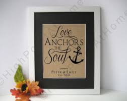 Popular Items For Love Anchors - love anchors etsy