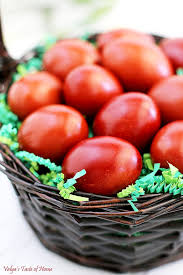 how to color easter eggs naturally dyed easter eggs with onion skins valya s taste of home