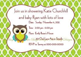 printable woodland leaf owl baby shower party invitation bee