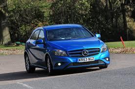 blue mercedes mercedes a180 cdi eco review auto express