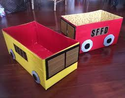 duct tape u0026 diaper box fire engine 10 steps with pictures