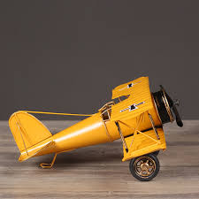 airplane home decor retro biplane model home decor iron plane model iron aircraft glider