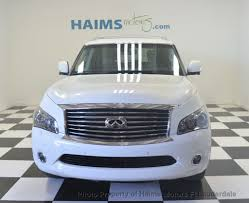 2014 used infiniti qx80 2wd 4dr at haims motors serving fort