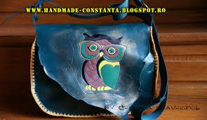 genti piele handmade geantă din piele