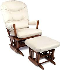 reclining rocking chair with ottoman manual swivel recliner with