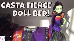 monster high casta fierce doll bed youtube