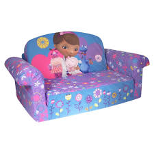 spin master marshmallow furniture flip open sofa doc mcstuffins