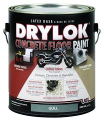 drylok concrete floor paint 1 gallon gull house paint amazon com
