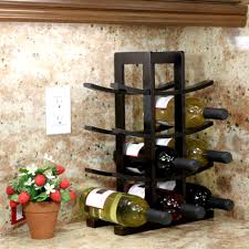 modern wine rack ideas for your home design pics wine bottle rack for kitchen counter