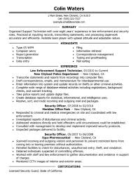 Law Enforcement Resume Objective Examples by Objective Cosmetology Resume Objective