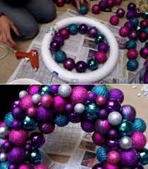 simple diy ornament wreath wreaths diy ornaments