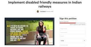 Seeking Mumbai Mumbai S Petition Seeking Disabled Friendly Measures In