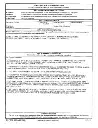 Counseling Form 4856 Fillable Fillable Uvu Da Form 4856 Aug 2010 Uvu Fax Email Print