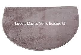 tappeto magico prezzo tappeto magico genio tortora in microfibra mezzaluna per ingresso
