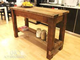 Kitchen Ideas With Island by Rustic Kitchen Island Rustic Kitchen Island With Wood Countertops