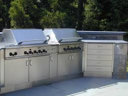 stainless steel outdoor countertops brooks custom