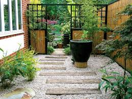 landscaping ideas for an l shaped garden backyard hgtv and