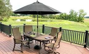 outdoor table umbrella and stand umbrella for deck patio deck umbrella offset cantilever windproof