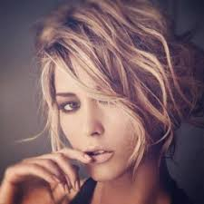 chin length wavy haircuts for round faces short hairstyles best