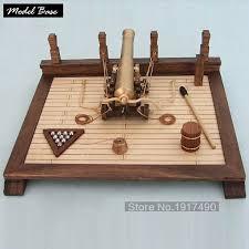 wooden kit ship model kit gun hobby wood boat models ancient wooden