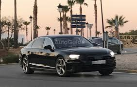 2018 audi a8 spied in production skin autoguide com news