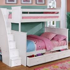 White Bunk Bed With Trundle Bunk Beds For Kids Store Show Now Rooms4kids