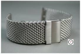 bracelet mesh images Mesh watch band milanese braided metal 16 18 20 22 24mm width jpg