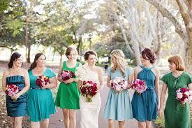 bridesmaid dress ideas wedding trends ombre wedding colours dresses ideas 2013 2014