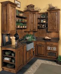 Rustic Kitchen Cabinets StarMark Cabinetry Rustic Kitchen - Rustic kitchen cabinet