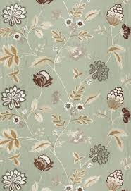 64840 palampore embroidery mineral by fschumacher fabric