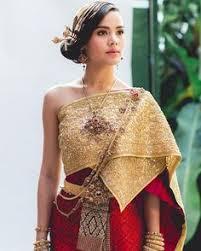 Thai Wedding Dress งานแต งประเพณ ไทย ซ ต เวดด ง ธ มงาน English Garden ส ขาว เข ยว