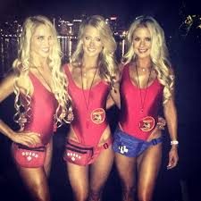 Broke Girls Halloween Costume Ideas U0026 Accessories Diy Baywatch Halloween Group Costume