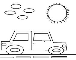 imagenes de ferraris para dibujar faciles coches para colorear dibujo de coche cuadrado para colorear autos