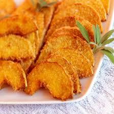 cuisine potiron recette beignets de potiron frits