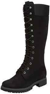womens boots knee high black amazon com timberland ek 14 inch premium black womens boots