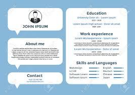 graphic design resume layouts cv design resume template cv vector graphic design resume