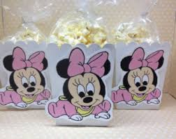 minnie mouse baby shower favors baby minnie mouse etsy