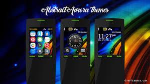 nokia 5130 menu themes abstract aurora theme x2 00 2730 s40 240x320 asha 206 themes