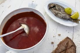 recette de cuisine poisson recette de soupe tunisienne au poisson facile et rapide