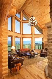 log homes interiors log home interiors yellowstone log homes