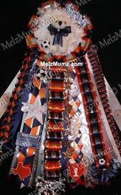homecoming ribbon homecoming garter the two layers of ribbon the flower