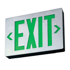 decor view decorative exit sign inspirational home decorating