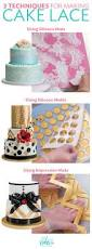 Lace Cake Decorating Techniques Cake Lace Is A Versatile Cake Decorating Medium Learn How To Use