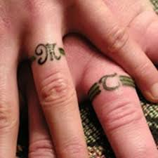 wedding ring tattoos for kubiyige info