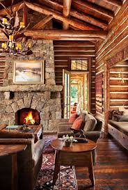 Log Home Interiors 2283 Best Log Cabins U0026 Interiors Images On Pinterest Log Cabins