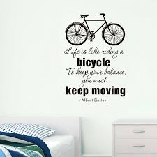 Wall Quotes For Living Room by Online Get Cheap Bicycle Wall Quotes Aliexpress Com Alibaba Group